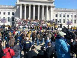 Workers Rally at WV Capitol